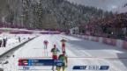 Video «Langlauf: Teamsprint Männer, Halbfinals (sotschi direkt, 19.02.2014)» abspielen