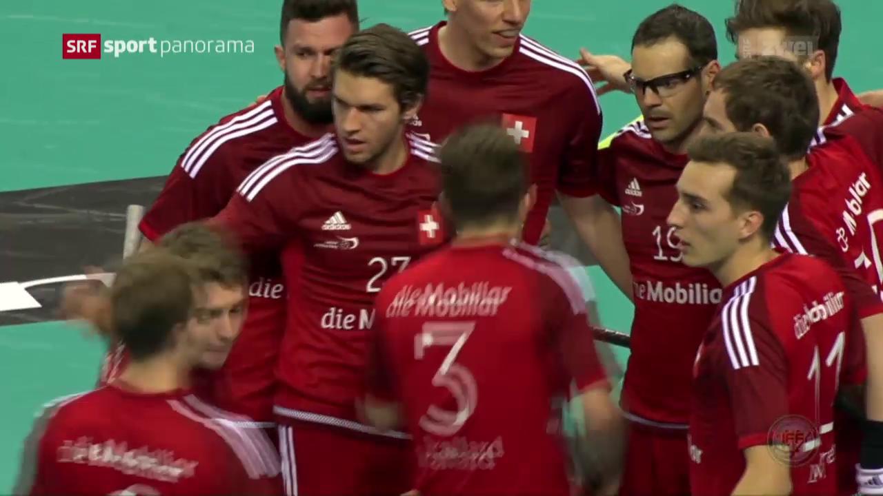 Unihockey-Nati verliert gegen Finnland knapp