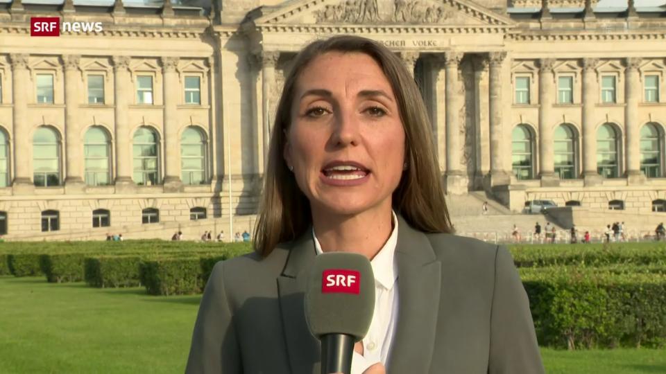 Korrespondentin: «Bislang hatte sich die Kanzlerin weitgehend rausgehalten»