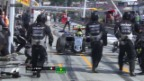 Video «Sergio Perez überrascht seine Boxen-Crew» abspielen