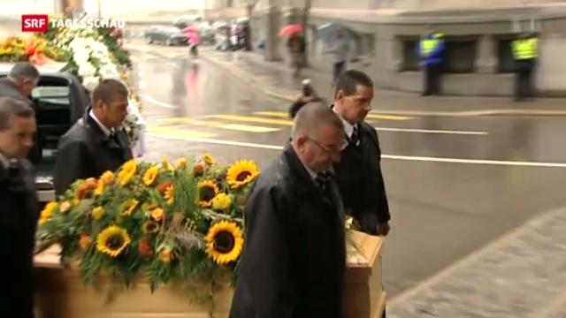 Trauerfeier für Carsten Schloter.