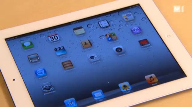 Video «Tablets: Konkurrenz für Apples iPad» abspielen