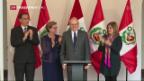 Video «Kuczynski ist neuer Präsident Perus» abspielen