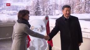 Video «WEF eröffnet dieses Jahr «ungleich»» abspielen