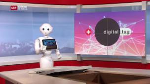Video «Ein Tag im Zeichen der Digitalisierung» abspielen