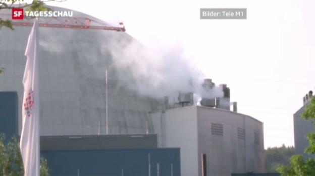 Video «Kernkraftwerk Gösgen abgeschaltet» abspielen