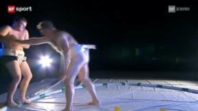 Video ««Tscheggsch de Pögg»: Wie werden Sumo-Ringer so dick? » abspielen