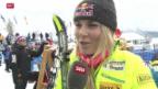 Video «Ski alpin: Frauen, Weltcup in St. Moritz» abspielen