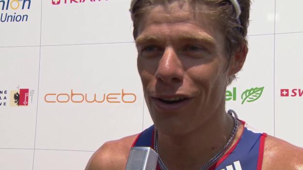 Video «Triathlon: EM Genf, Interview mit David Hauss» abspielen