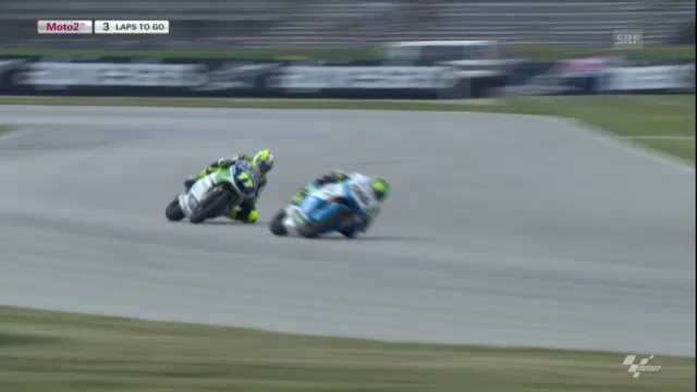 Motorrad: GP Indianapolis, Moto2 («sportpanorama»)