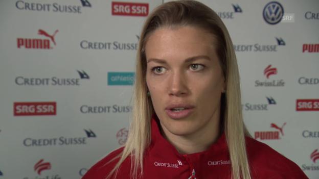 Video «Lara Dickenmann über das Olympia-Quali-Turnier in Rotterdam» abspielen