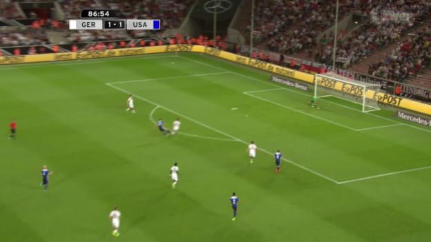 Video «Fussball: Testspiel Deutschland - USA» abspielen
