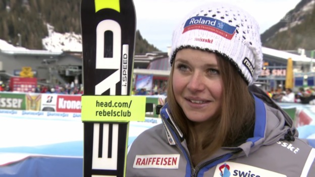 Video «Ski: Interview mit Corinne Suter» abspielen
