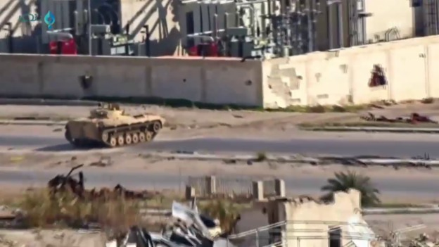 Video «Panzer gegen Citizen Journalist» abspielen