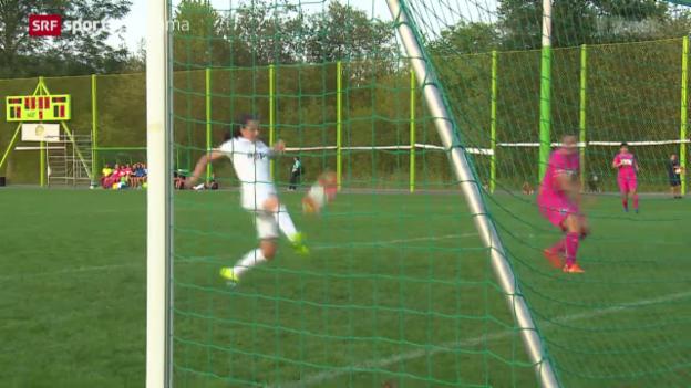 Video «Fussball: Saisonstart bei den Frauen» abspielen
