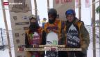 Video «Podlatchikov überflügelt Konkurrenten in Laax» abspielen