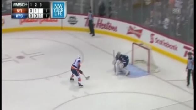 Video «NHL: Highlights Islanders - Jets» abspielen