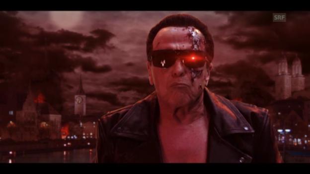 Video «Walter Andreas Müller als Terminator (Werbespot)» abspielen