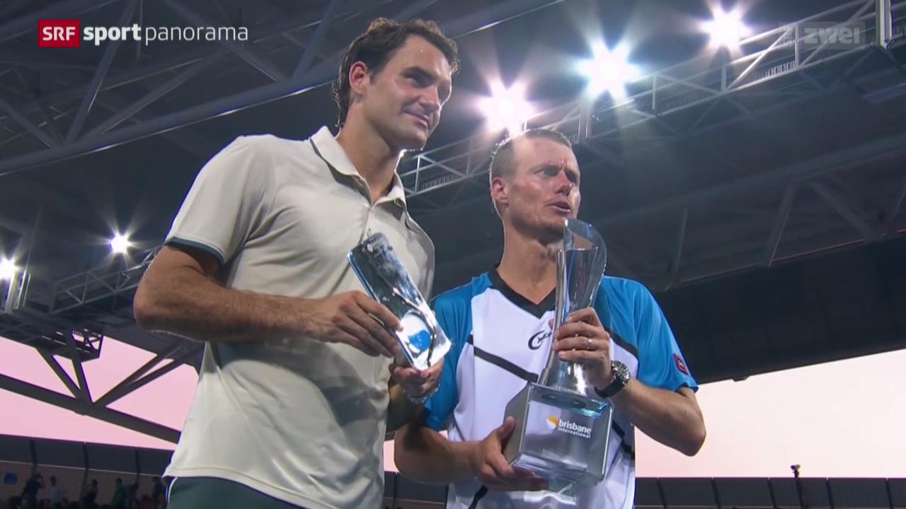 Tennis: Federer - Hewitt