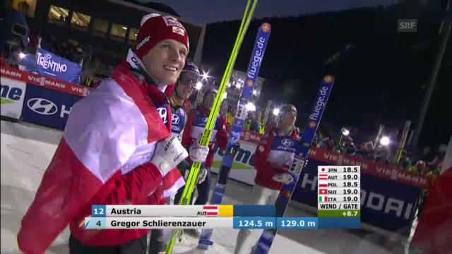 Skispringen: Schlierenzauer springt Sieg nach Hause