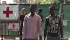 Video «Nach Flüchtlings-Blockade: Weiterhin angespannte Stimmung in Ventimiglia» abspielen