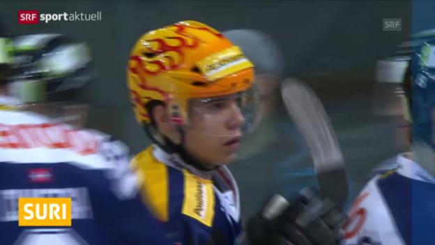 Video «Suri wechselt noch nicht in die NHL (sportaktuell, 27.2.14)» abspielen