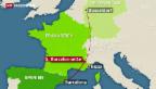Video «Flugzeugabsturz in Südfrankreich» abspielen