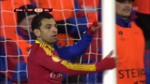 Salahs Aktionen gegen Tottenham