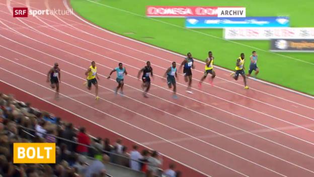 Video «LA: Bolt sagt Zürich ab» abspielen