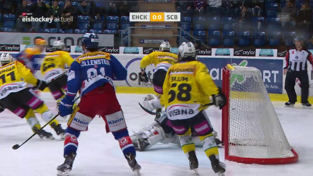 Bern gewinnt in Kloten mit 2:0