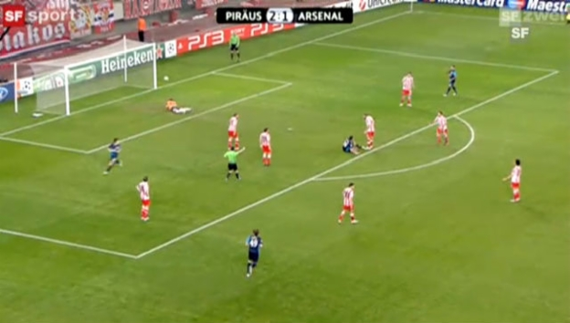 Video «CL: Olympiakos Piräus - Arsenal» abspielen