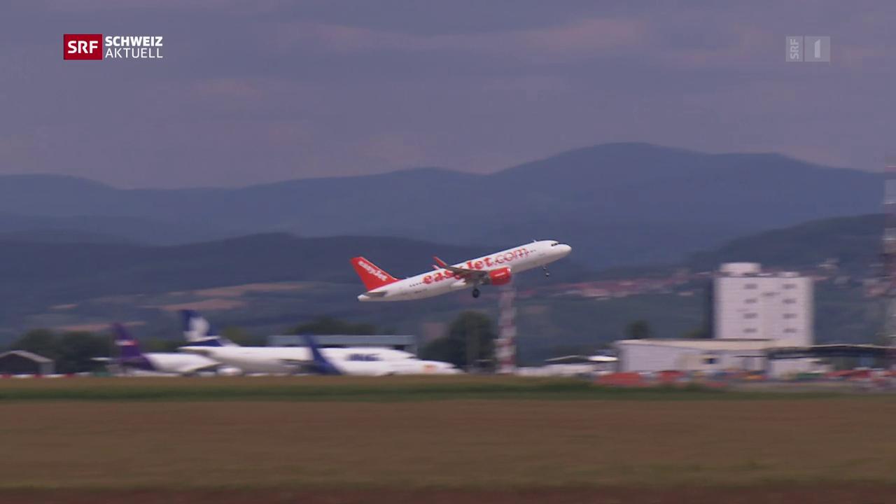 Basel-Mulhouse verspricht Reduktion von Nacht-Fluglärm