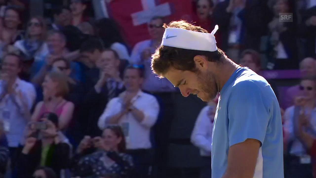 Der unglaubliche Olympia-Halbfinal zwischen Federer und Del Potro