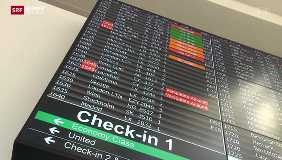 Flugpersonal am Flughafen ZH solidarisch mit Kollegen von MH17