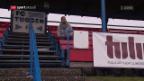 Video «Tuggen vor dem Cup-Hit gegen Basel» abspielen