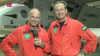Video «Letzte Landung der «Solar Impulse 2» » abspielen
