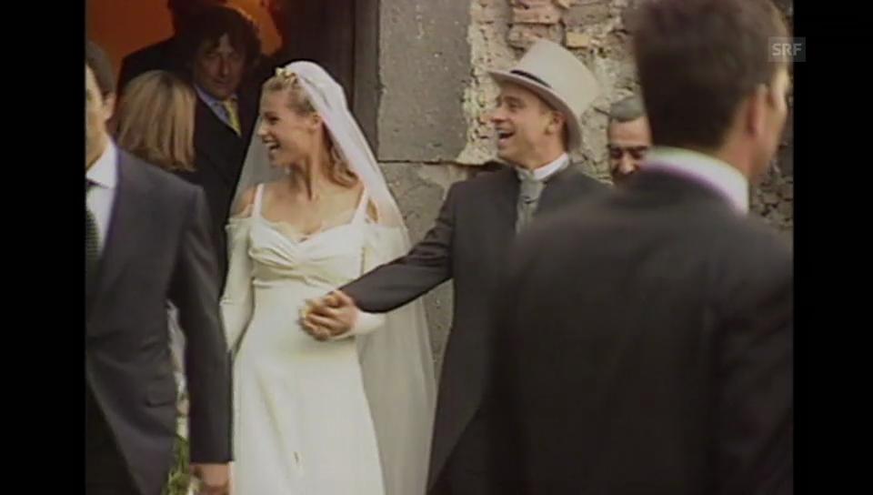 Michelle Hunziker und Eros Ramazzotti heiraten (Agentur-Material, unkommentiert)