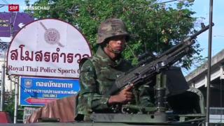 Video «Thailändische Armee ruft Kriegsrecht aus» abspielen