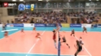 Video «Volero unterliegt auch Jekaterinenburg» abspielen