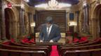Video «Katalonien vor möglicher Unabhängigkeitserklärung» abspielen