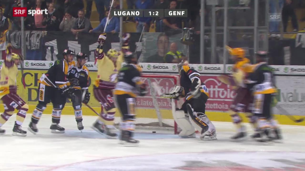 Eishockey: Lugano - Genf