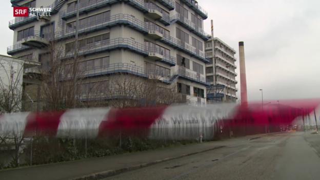 Video «Explosion in Chemiebetrieb» abspielen
