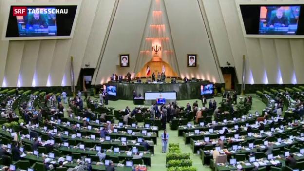Video «Ende der Sanktionen gegen den Iran» abspielen