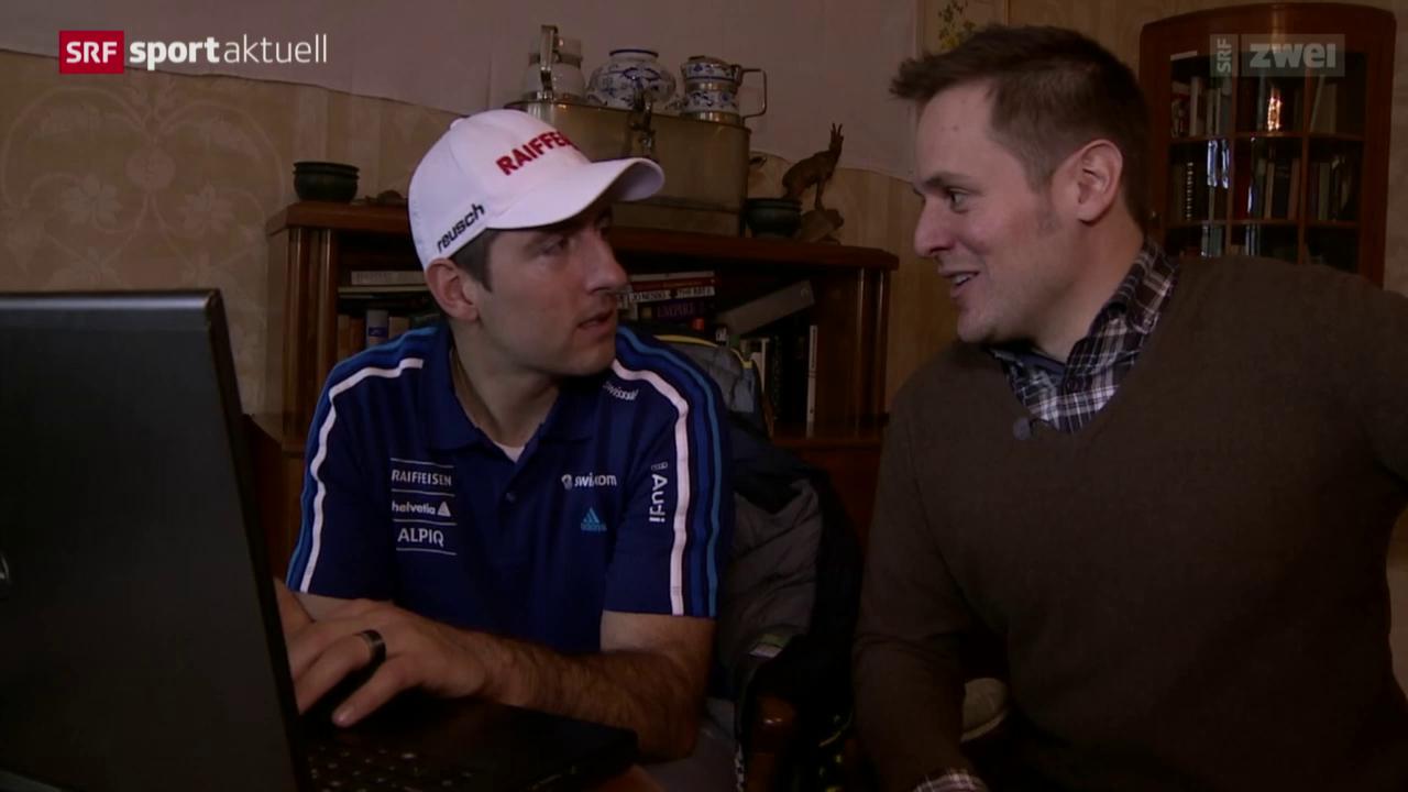 Ski: In Wengen mit Daniel Albrecht: «Die Fahrer in der Freizeit»