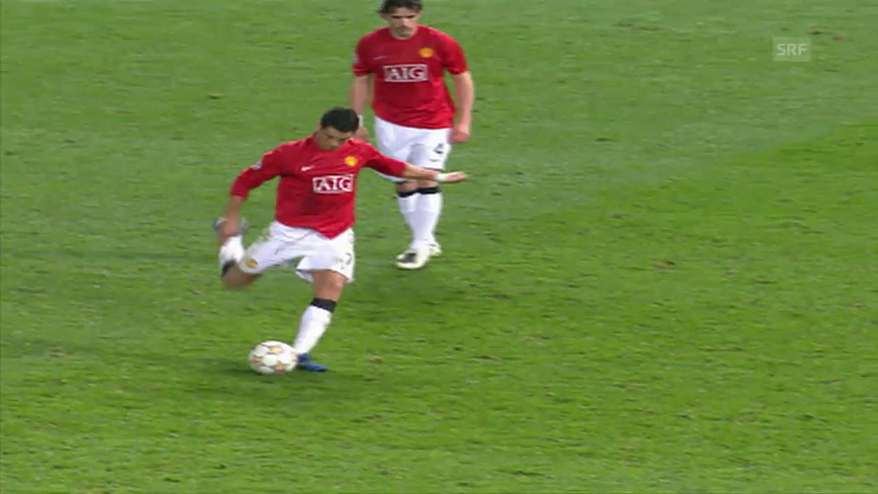 Die 12 Freistosstore von Cristiano Ronaldo in der CL