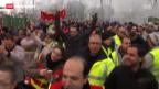 Video «Renault-Arbeiter wehren sich gegen Mehrarbeit» abspielen