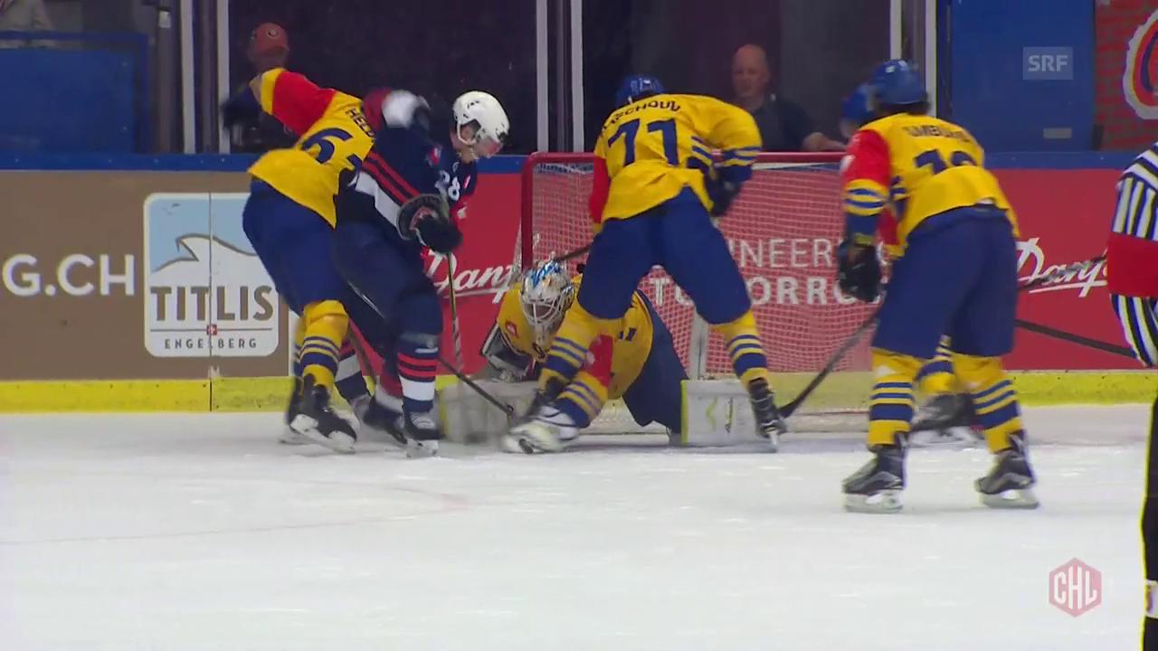 Davos unterliegt Växjö mit 3:5