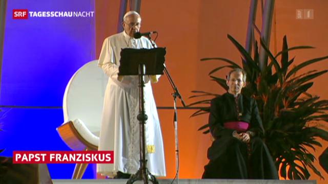 Der Papst an der Copacabana
