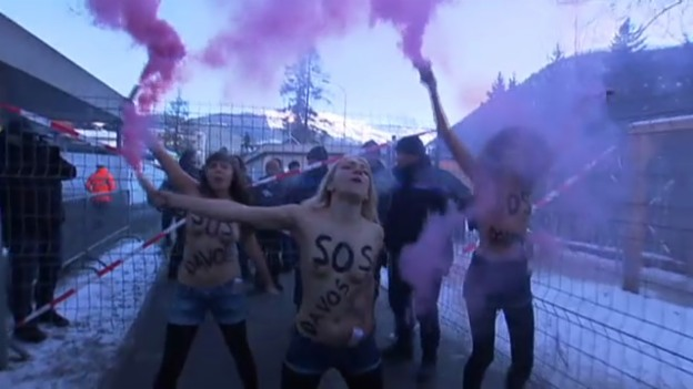 Video «Femen am WEF» abspielen