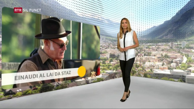 Laschar ir video «Ludovico Einaudi al Lai da Staz»